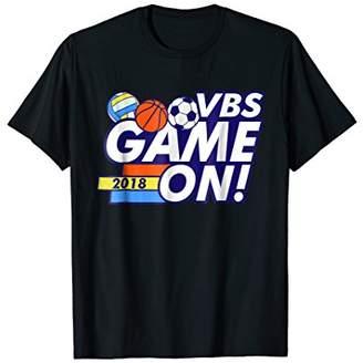 VBS Game On 2018 T-Shirt Soccer Basketball Volleyball Spirit