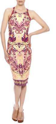Hale Bob Safari Palm Dress