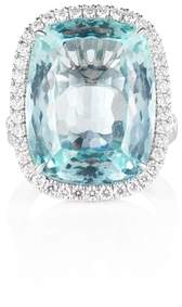 Olivia Grace Aquamarine Cocktail Ring