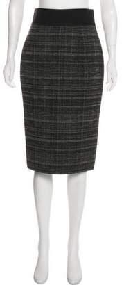 Marc Jacobs Tweed Knee-Length Skirt