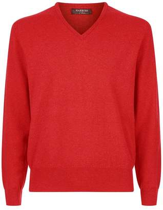 Harrods Cashmere V-NeckSweater