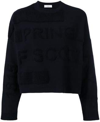 Pringle 1815 logo sweatshirt