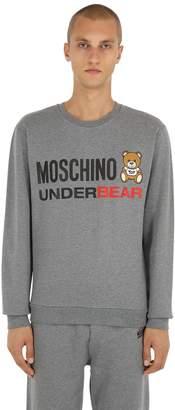 Moschino Printed Cotton Sweatshirt