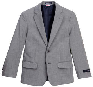 Tommy Hilfiger Stretch Sharkskin Coat (Big Boys)