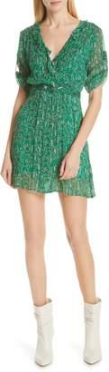 BA&SH Clem Metallic Paisley Dress