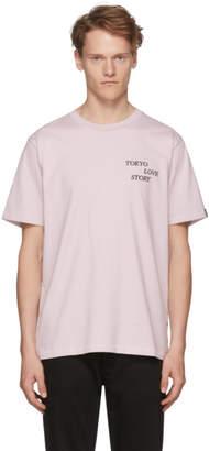 Rag & Bone Pink Tokyo Love Story T-Shirt