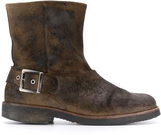 Maison Margiela Pre-Owned '1990s buckled boots