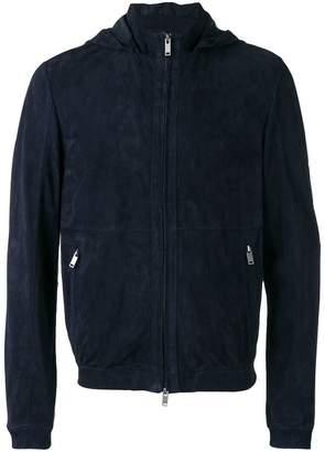 Desa 1972 zipped hooded jacket