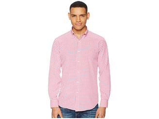 Bugatchi Long Sleeve Button Down Collar Woven Shaped