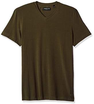 Kenneth Cole New York Men's Cotton Spandex V-Neck