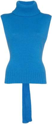 Etro roll-neck sleeveless sweater