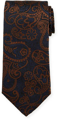 093e89354b9f2 Isaia Men's Paisley Silk Tie