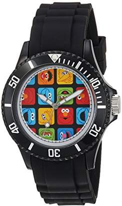 EWatchFactory ' Sesame Street' Quartz Plastic Casual Watch