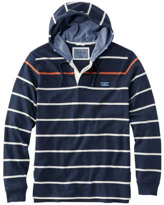 99a62a4f2 L.L. Bean L.L.Bean Men's LakewashedA Rugby, Traditional Fit Long-Sleeve  Hoodie Stripe
