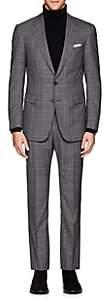 Cifonelli Men's Montecarlo Plaid Wool Two-Button Suit - Gray