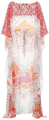 Roberto Cavalli Printed silk dress