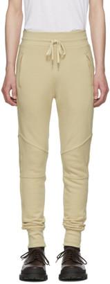 John Elliott Beige Escobar Lounge Pants