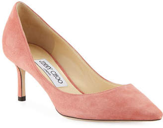 Jimmy Choo Romy 60mm Suede Pumps