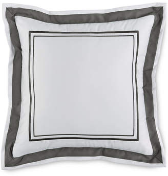 """Hotel Collection Embroidered Frame 16"""" Square Decorative Pillow, Created for Macy's Bedding"""