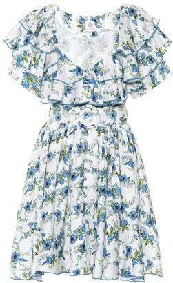 Gül Hürgel Exclusive to Mytheresa Floral linen minidress