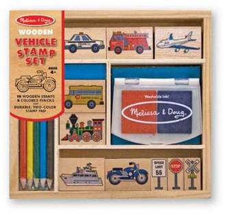 Melissa & Doug Stamp Set Vehicles