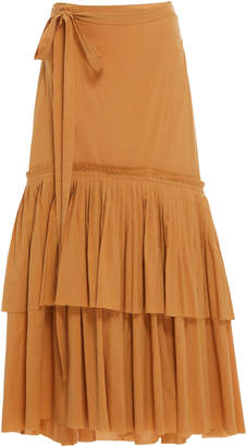 Brock Collection Ortensia Cotton Skirt