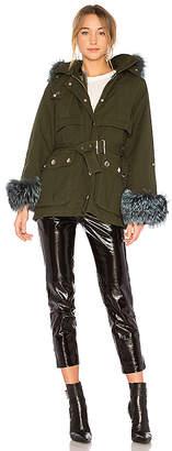 Jocelyn Swing Jacket With Rabbit Liner & Fox Trim