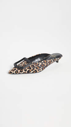 SUECOMMA BONNIE Leopard Jewel Ornament Mules