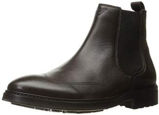 Armani Jeans Men's Leather Chelsea Boot