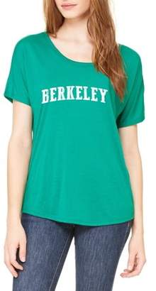 Ugo Berkeley CA California Map Flag Home of University of Los Angeles UCLA USC CSLA Women's Slouchy T-Shirt Clothes