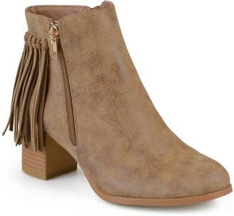 Journee Collection Viv Western Bootie - Women's