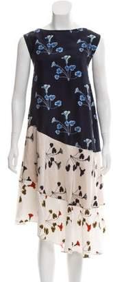 Rachel Comey Silk Floral Patterned Dress