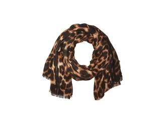 Hat Attack Leopard Blanket Scarf