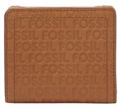 Fossil Logan Small Rfid Bifold Wallet Tan