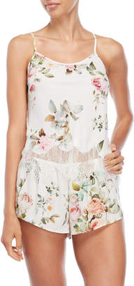 Flora Nikrooz Two-Piece Abigail Floral Camisole & Short Set