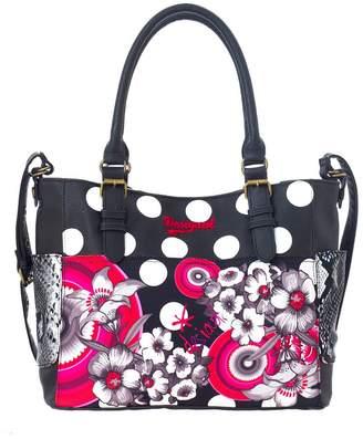 Desigual Saintropez Flower Shoulder Bag
