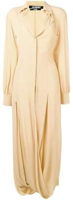 Jacquemus button down dress