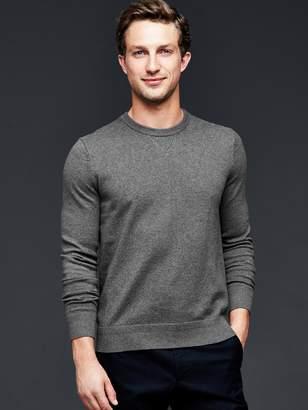 Gap Cotton cashmere crew sweater
