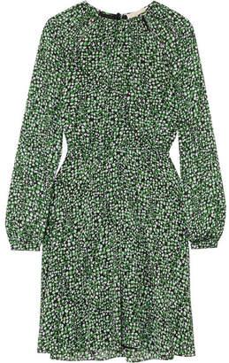 MICHAEL Michael Kors Printed Chiffon Dress - Green