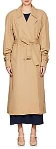 The Row Women's Nueta Tech-Twill Trench Coat - Beige