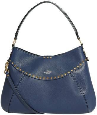 Valentino Medium Twinkle Stud Hobo Bag