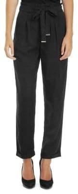 Dex Belted Paperbag Pants