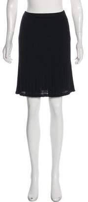 Missoni Merino Wool-Blend Knit Skirt