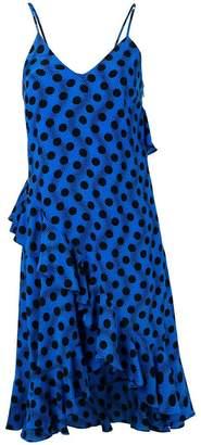 Kenzo polka dot frilled dress