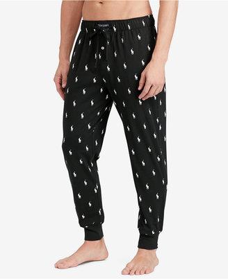 Polo Ralph Lauren Men's Lightweight Cotton Logo Pajama Pants $42 thestylecure.com