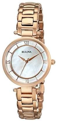 Bulova Women's 97L124 Stainless Steel Bracelet Watch
