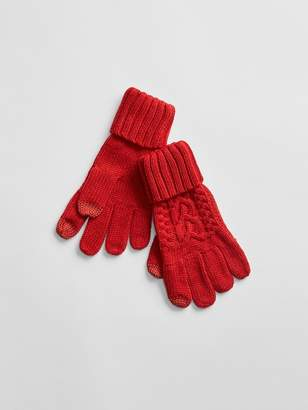 Gap Cable-Knit Gloves