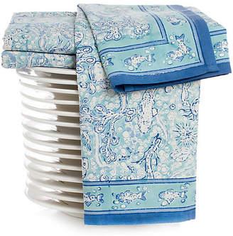 Couleur Nature Set of 3 La Mer Tea Towels - Aqua