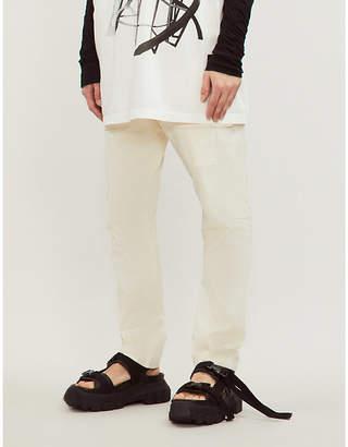 Rick Owens Creatch cotton cargo trousers