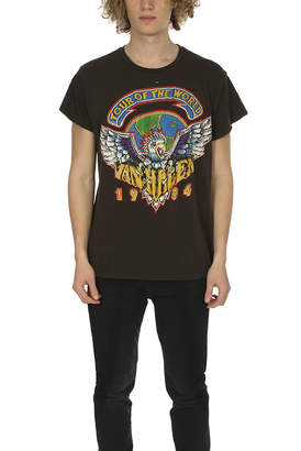 madeworn rock MadeWorn Van Halen Tour of the World Tee